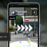 Rzeczywistość rozszerzona Augmented Reality Mapy Google widok ulicy