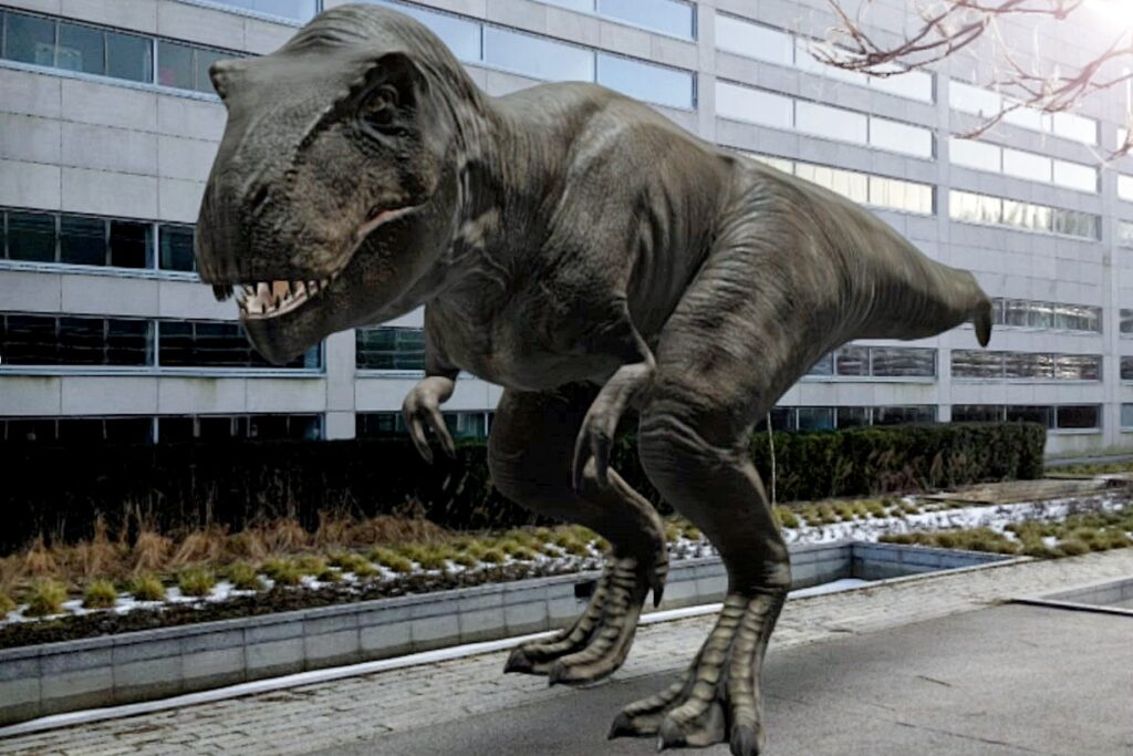 Dzień dinozaura Puławski Park Naukowo-Technologiczny