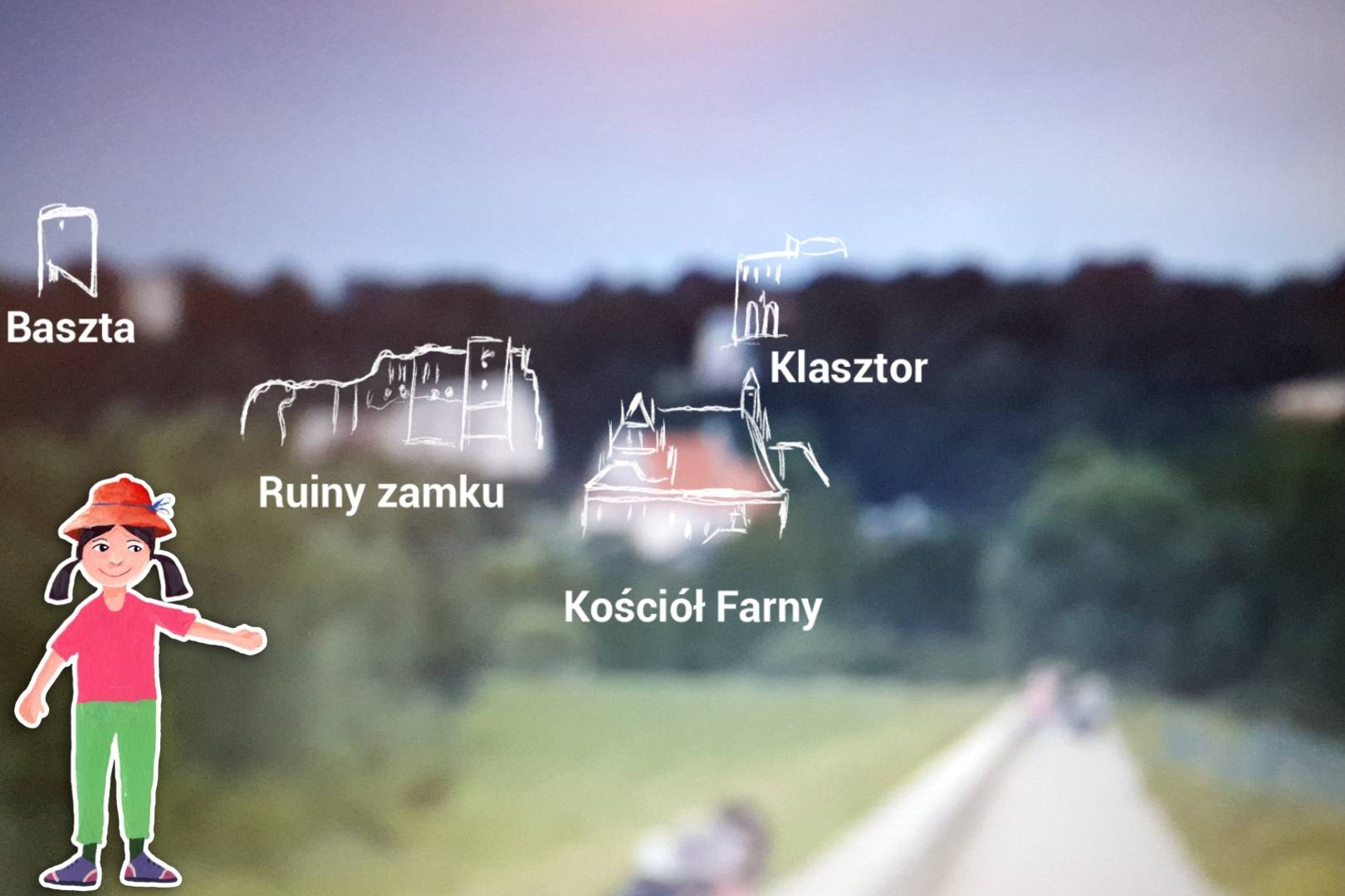 Mały Przyrodnik Przygoda Kazimierz Dolny Esterka - trasa Wisła 2