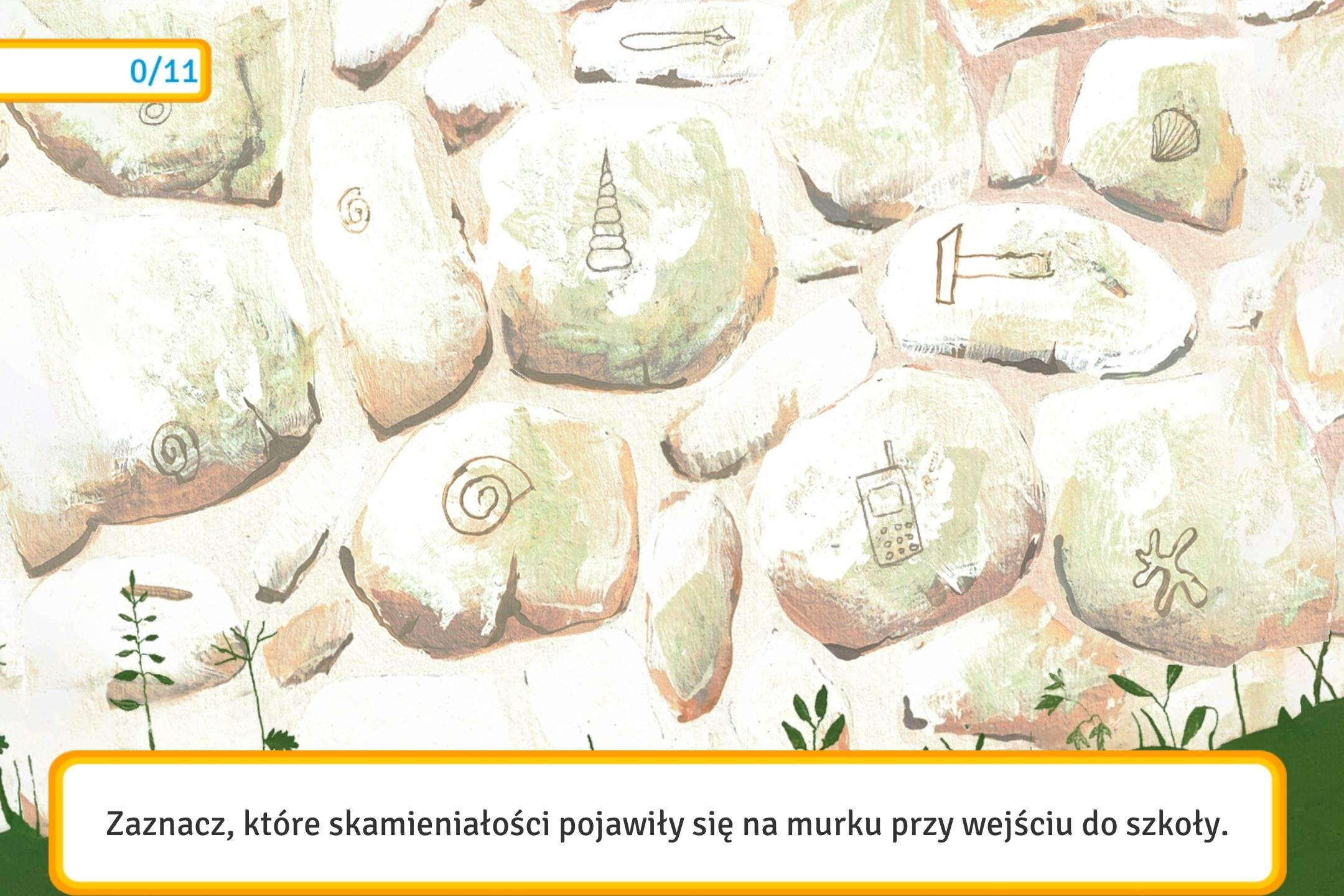 Mały przewodnik po Kazimierzu Dolnym Kazik - skamieniałości