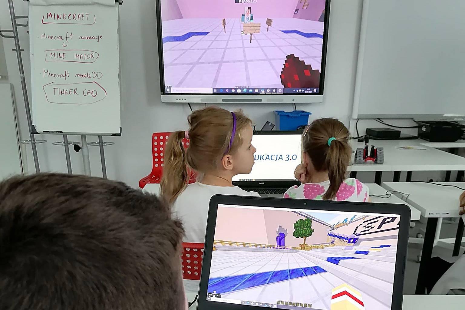 Półkolonie - Zajęcia z Minecraftem