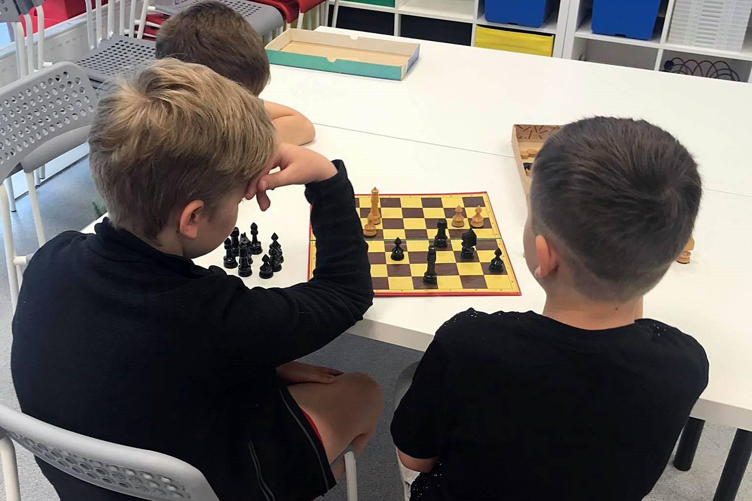 Półkolonie - Turniej szachowy