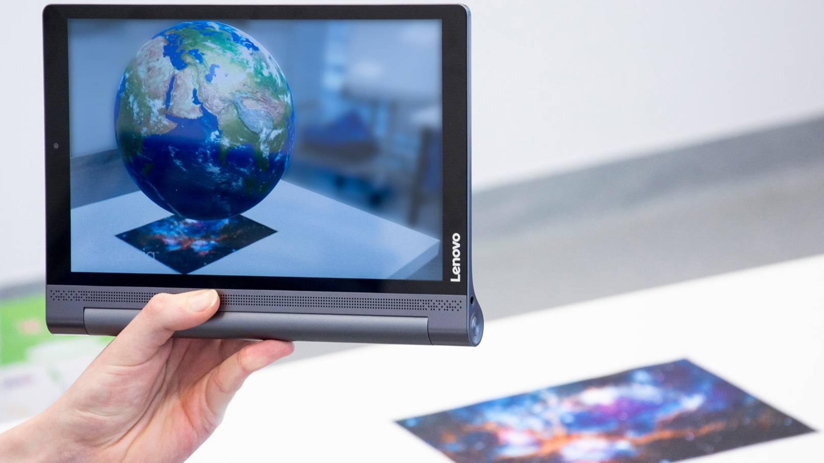 Tablet AR ziemia