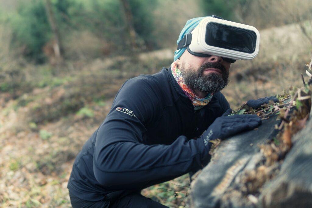 Eye-tracking pamięć VR