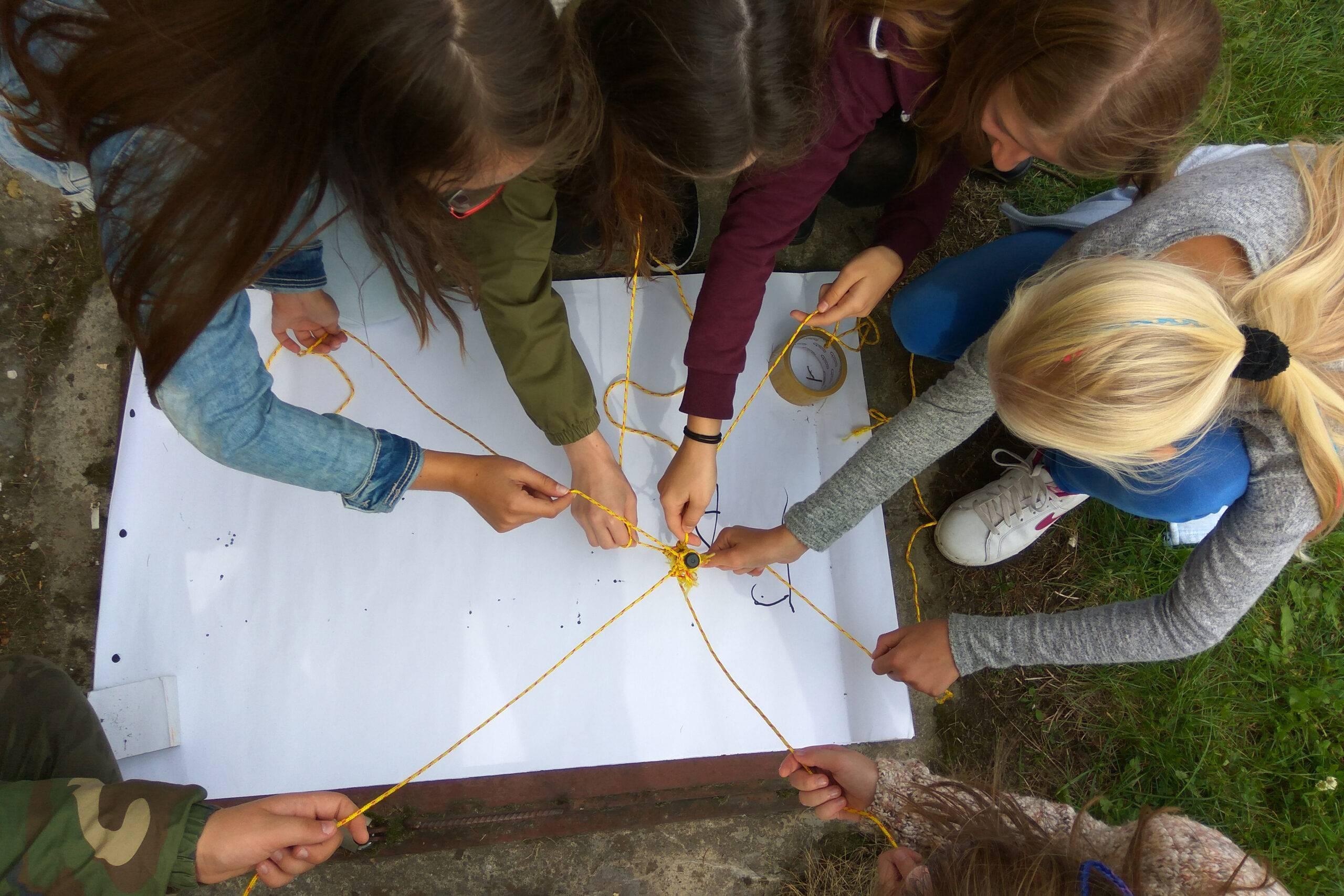Gry terenowe - teambuilding
