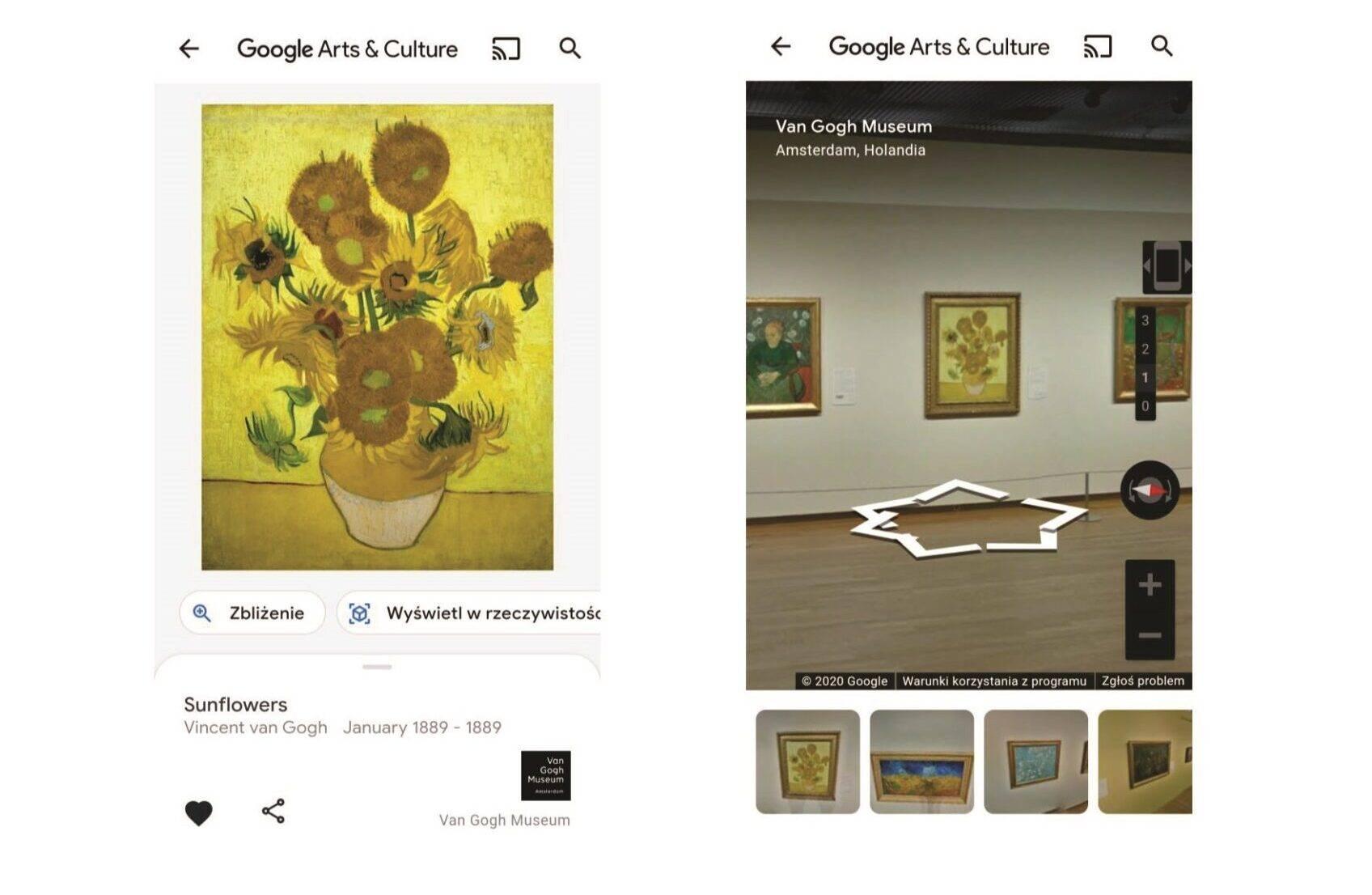 Wirtualna wycieczka po Muzeum Van Gogha