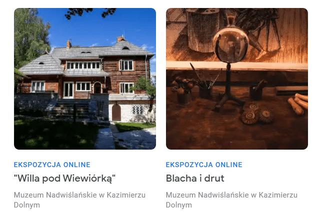 Artykuły online dotyczące Domu Kuncewiczów i warsztatu złotniczego