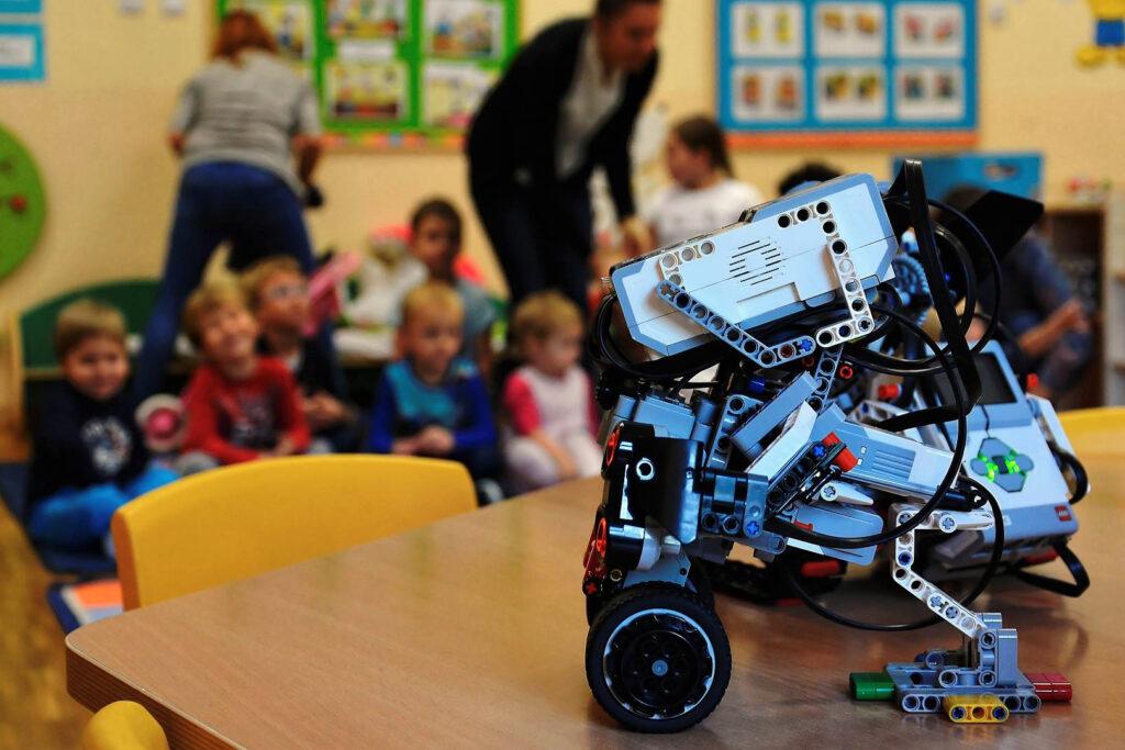 Przedszkole pokazy robotyka LEGO Mindstorms