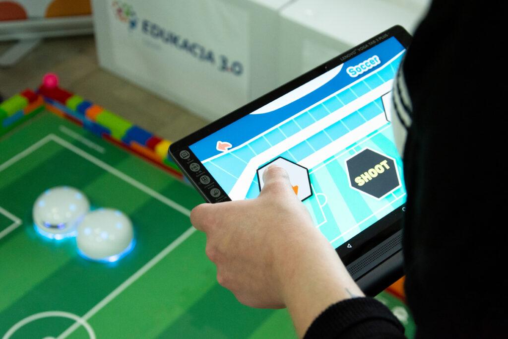 Strefa roboty Vortex tablet
