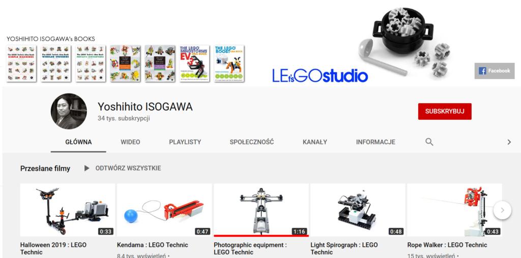 Zrzut ekranu z aplikacji YouTube